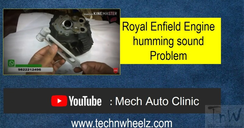 Video: Royal Enfield Engine humming sound Problem and its solution