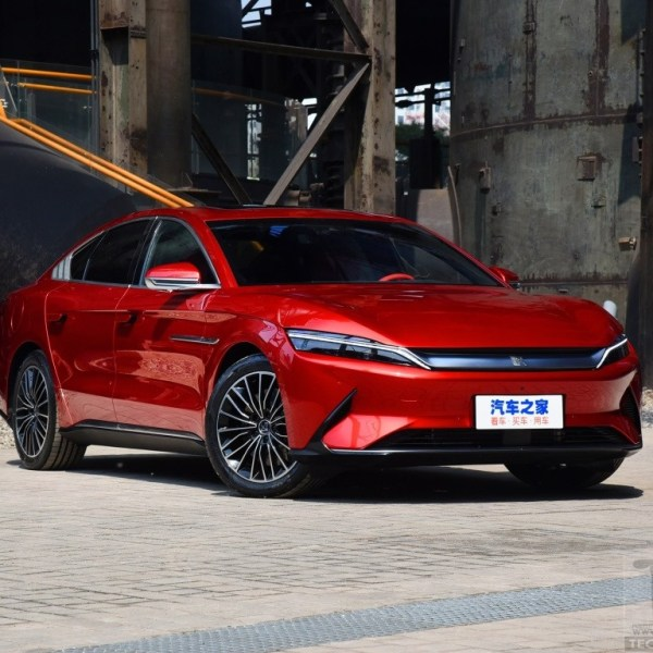 BYD Han electric sedan revealed. Rival to Tesla Model 3