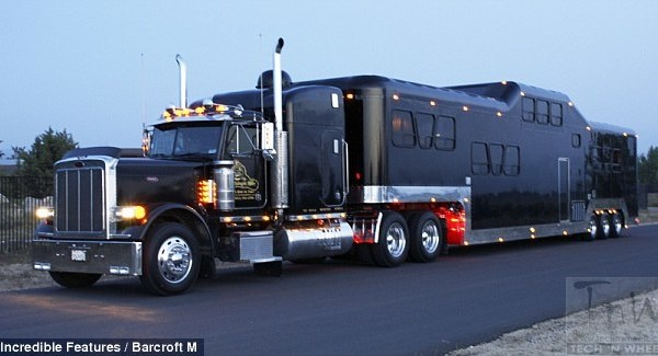 The Midnight Rider is  World's biggest limousine