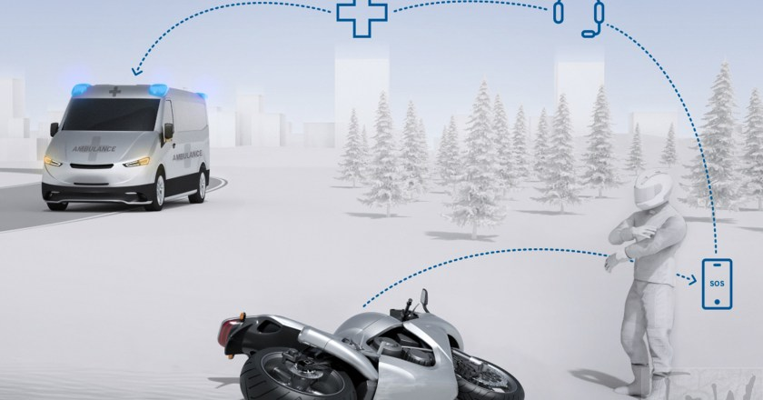 Bosch Help Connect- automatic emergency calls for motorcycles introduced