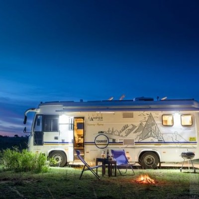 LuxeCamper is India's first commercially approved premium motorhome