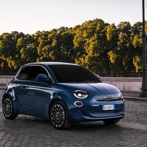 Fiat 500 'la Prima' all electric hatchback unveiled