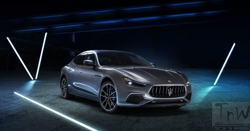 New Ghibli Hybrid is the first hybrid vehicle in Maserati's history