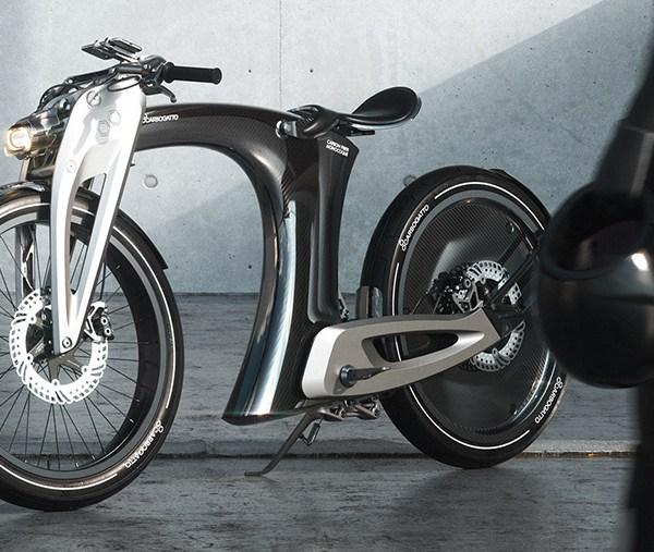 Carbogatto H7 – monocoque frame e-motorcycle