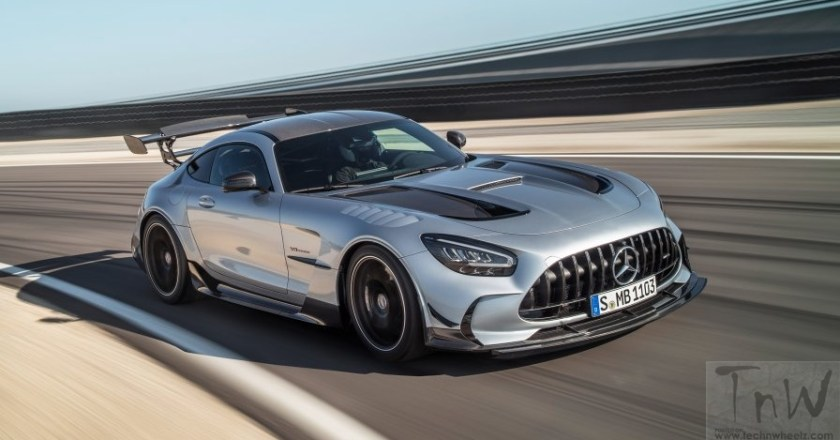 720-hp V8 Mercedes-AMG GT Black Series is extremely powerful