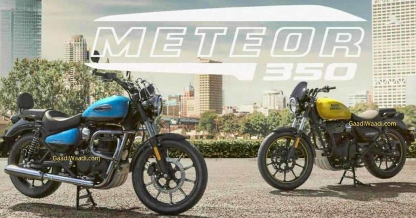 Royal Enfield Meteor details leaked. Launch expected on 22nd Sep in 3 variants
