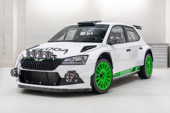 ŠKODA Motorsport celebrates 120 years in racing with ŠKODA Fabia Rally2 evo Edition 120