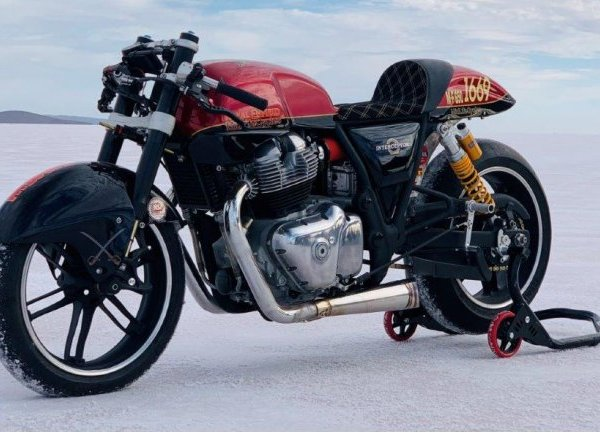 Royal Enfield Interceptor 650 achieves 212kmph. Breaks 4-year old record