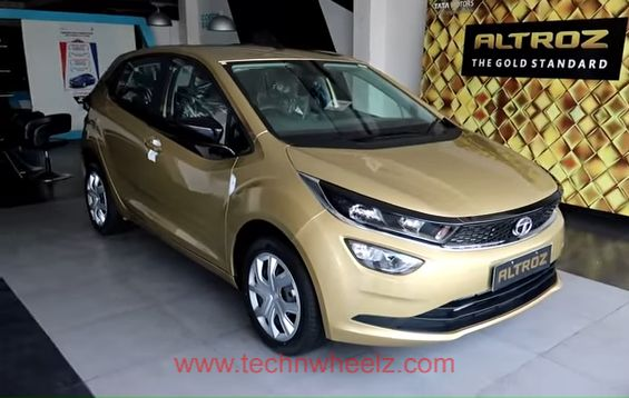 Tata Altroz XT High Street Gold