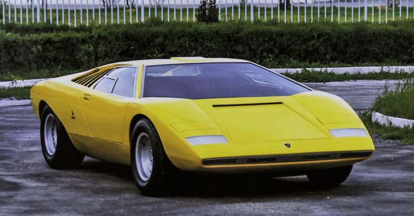 50 years of Lamborghini Countach LP 500