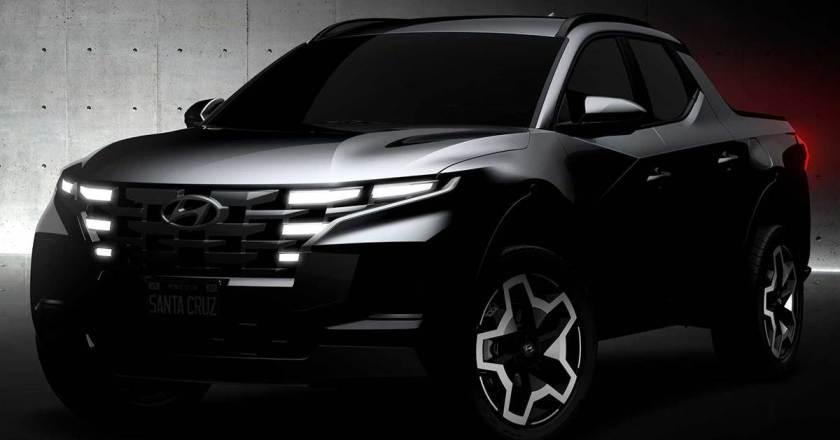 Hyundai Santa Cruz pick-up teased. Unveil on April 15th