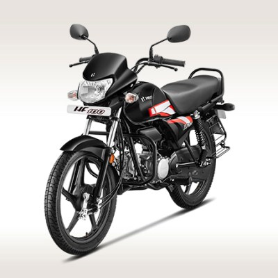 Hero HF 100 commuter motorcycle launched at INR 49,400 (ex-showroom, Delhi)