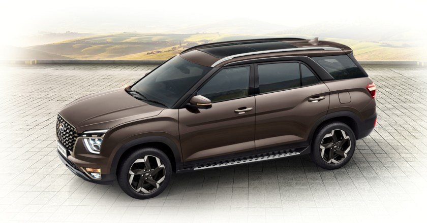 Hyundai Alcazar launched in India. Prices start at INR 16.3 lakh