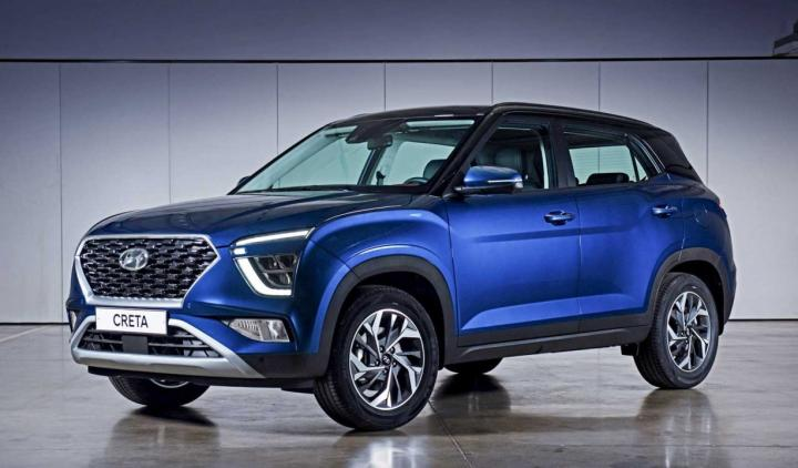 Hyundai Creta facelift launched with AWD in Russia