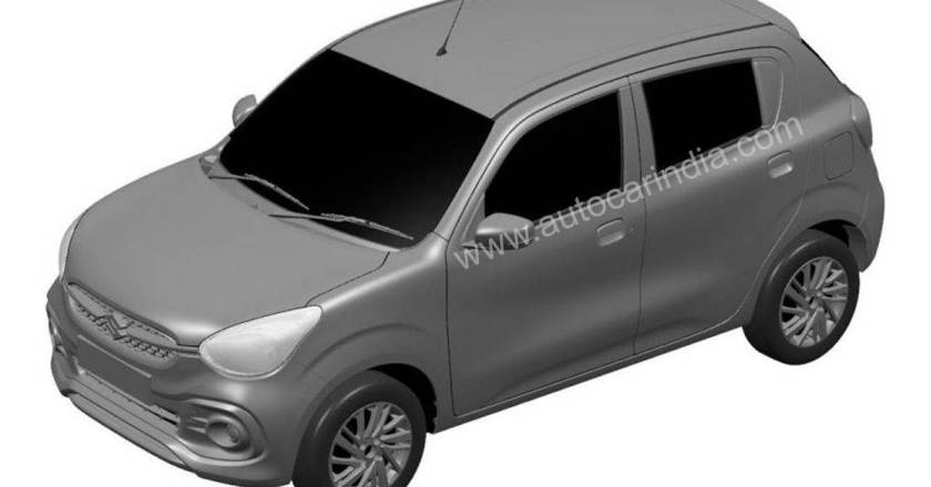 2021 Maruti Celerio patent design leaked ahead of unveil