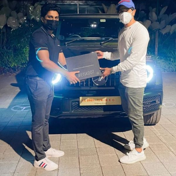 Dulquer Salmaan's new ride is the Mercedes-AMG G63 SUV in Designo Olive Green shade