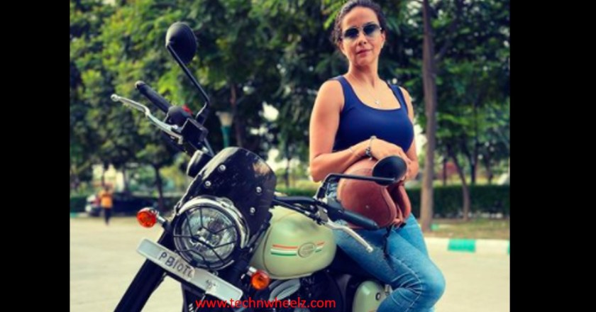 Actor Gul Panag adds Jawa Forty Two motorcycle in her collection