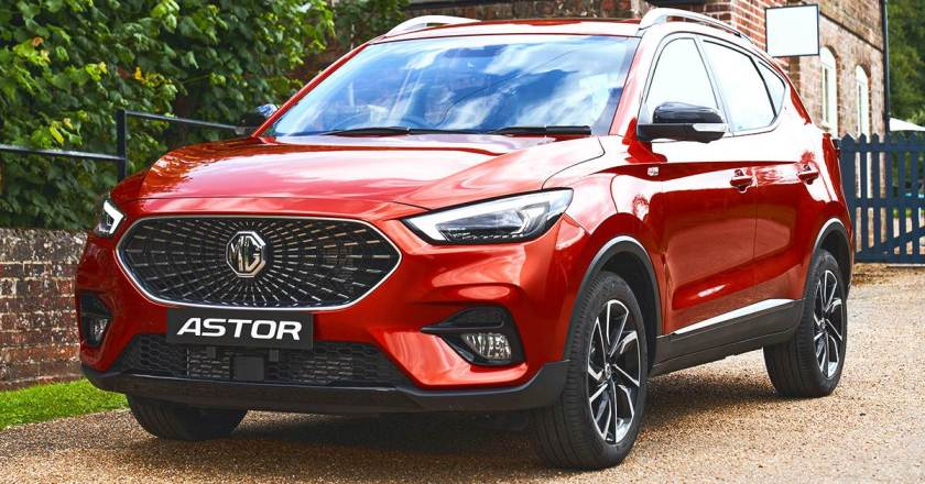 MG Astor mid-size SUV revealed. First SUV in segment with Level 2 ADAS tech