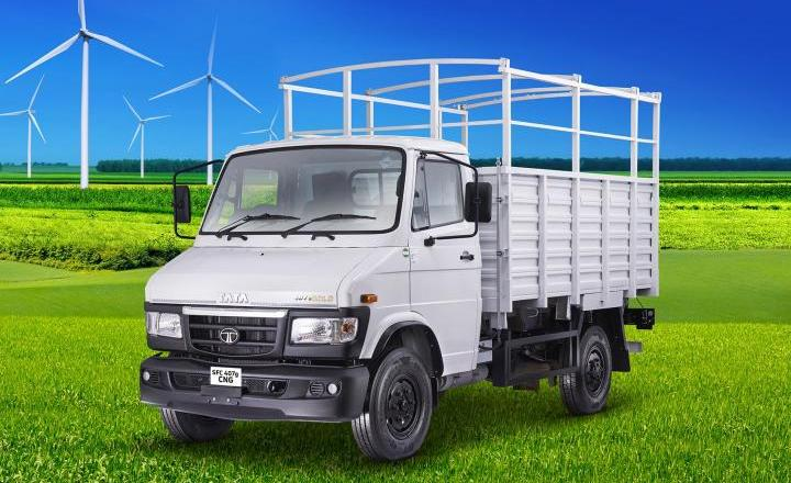 Tata 407 CNG variant launched. Prices start at INR 12.07 Lakh