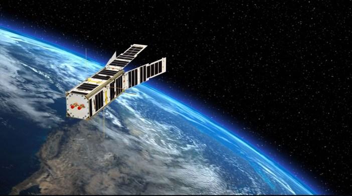 "Palydovas LituanicaSAT-2. ""Nano Avionics"" iliustr."