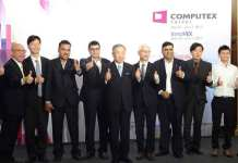 """The Deputy Executive Director from TAITRA, Thomas Huang, speaking at the conference said, """"For now, we're expecting to have over 1,600 companies with 5,010 booths in COMPUTEX 2017."""" (Photo/COMPUTEX TAIPEI)"""
