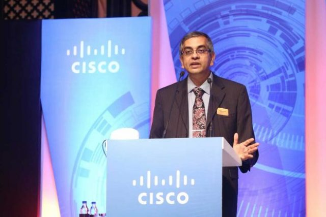 V C Gopalratnam, SVP, CIO-International, Cisco. (Photo/Cisco)