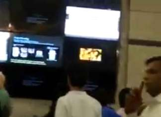 The incident occurred last Sunday after one of the screens at Rajiv Chowk metro station accidentally aired pornography on April 9 around 5 pm. While many commuters were left embarrassed, several of them took time and even captured the incident on their mobile phone cameras. (Photo/Twitter)