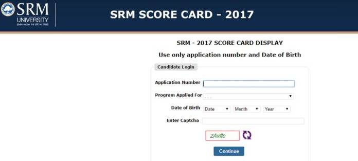 University conduct, SRMJEEE exams every year for undergraduate admission. On the basis of SRMJEEE 2017 Results candidates will be granted admission. (Photo/SRM Portal)