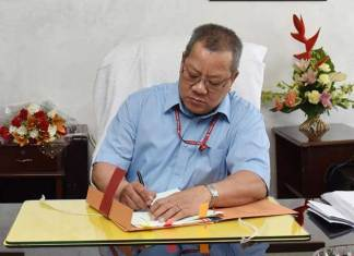 He is highly credited for his IT initiatives in the North-Eastern Region. He was instrumental in computerising the functions of the state Treasuries of Mizoram. (Photo/PIB)