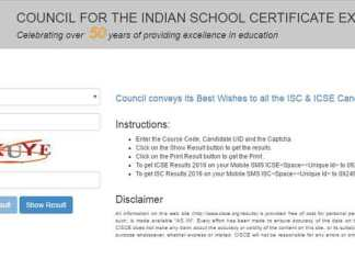 Some online results portals like indiaresults.com will also provide ICSE Class 12 results 2017 and ICSE Class 10 results 2017 (Web Image)