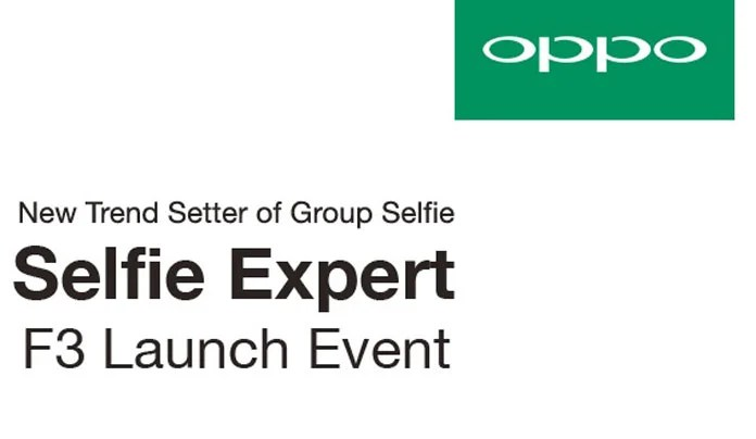 The Oppo F3 launch event will start around 12:30pm IST. Company said that it will be live streaming the event.