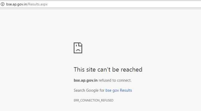 Andhra Pradesh Board of Secondary Education has declared AP SSC Class 10 Results 2017 at bse.ap.gov.in. Due to heavy traffic, the website is taking too long to respond