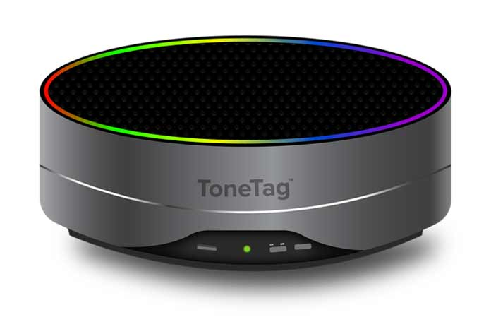 ToneTag, a sound based proximity payment technology provider launches an Audio Pod for all the merchants. (Photo/ToneTag)