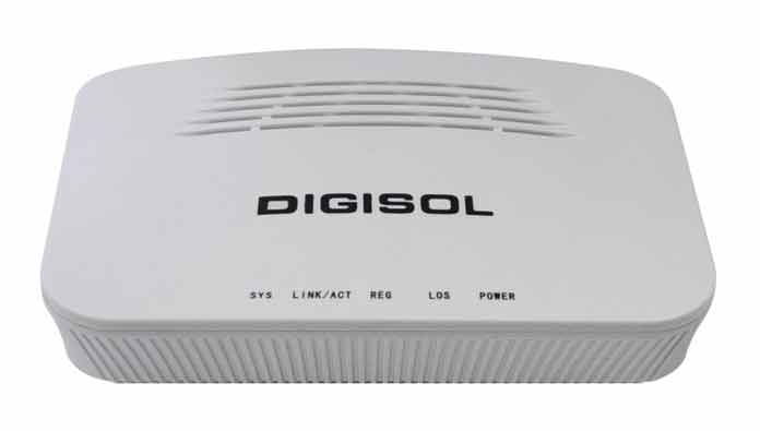 DIGISOL, GEPON ONU Router, 1.25Gbps speed, DIGISOL News, Networking, Router