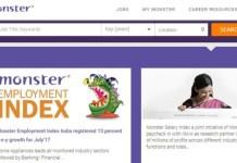 online jobs, monster.com, jobs in India, sanjay modi, job news, monster news, most popular job, business development job, naukri, online job portal