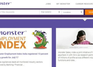 online jobs, monster.com, jobs in India, sanjay modi, job news, monster news, most popular job, business development job, naukri, online job portal