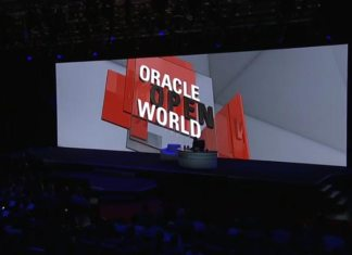 Oracle, Larry Ellison, Oracle Database 18c, Oracle autonomous database cloud, Oracle OpenWorld 2017, Oracle Open Warehouse Cloud, Oracle technology, Oracle news, Oracle, AWS, Amazon