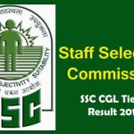SSC CGL Tier I 2017 Results, Staff Selection Commission, SSC notification, Combined Graduate Level Examination, 2017 (Tier-I), Steps to check SSC CGL 2017 Exam Tier 1 Results
