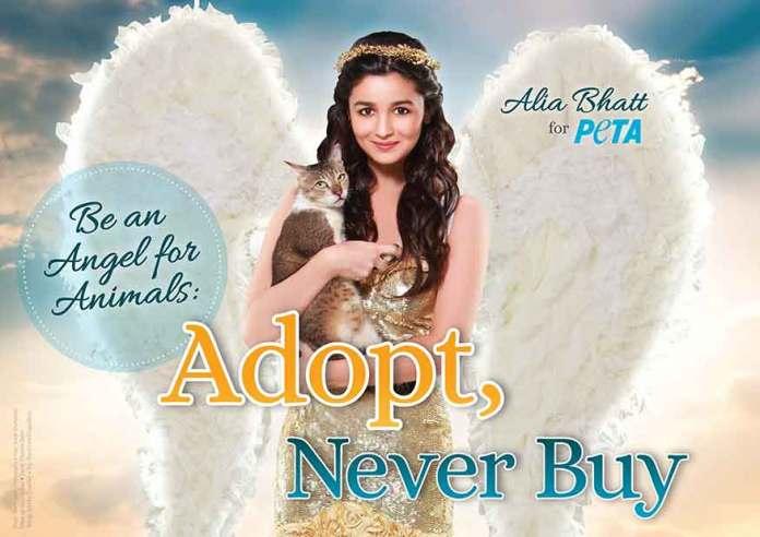 Alia Bhatt Peta Ad