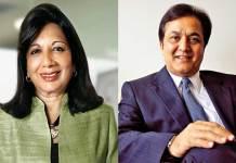 Hurun Report, Kiran Mazumdar Shaw, Rana Kapoor, Biocon, Yes Bank, most respected entrepreneurs in 2017, most respected entrepreneurs in India