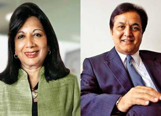Hurun Report, Kiran Mazumdar Shaw, Rana Kapoor, Biocon, Yes Bank, most respected entrepreneurs in 2017, most respected entrepreneurs in India
