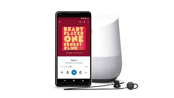 Google, Google Play, Google Audiobooks, Google Assistant