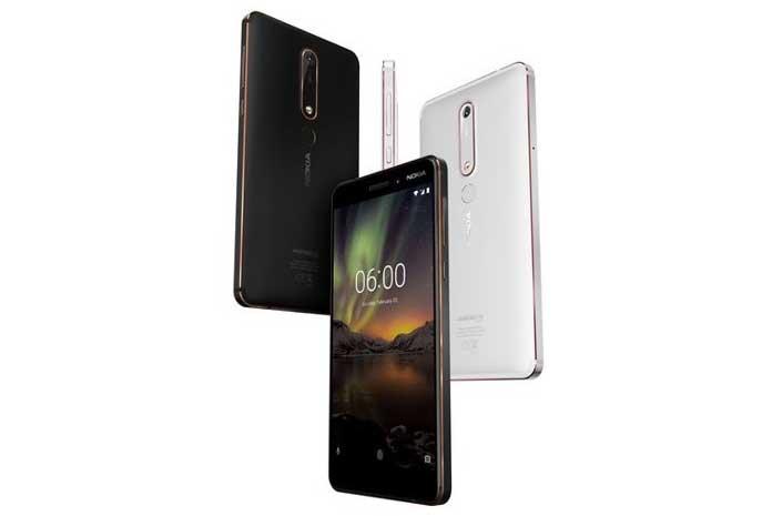 Nokia 6 (2018) runs Android 8.0 Oreo. (Photo/HMD Global)