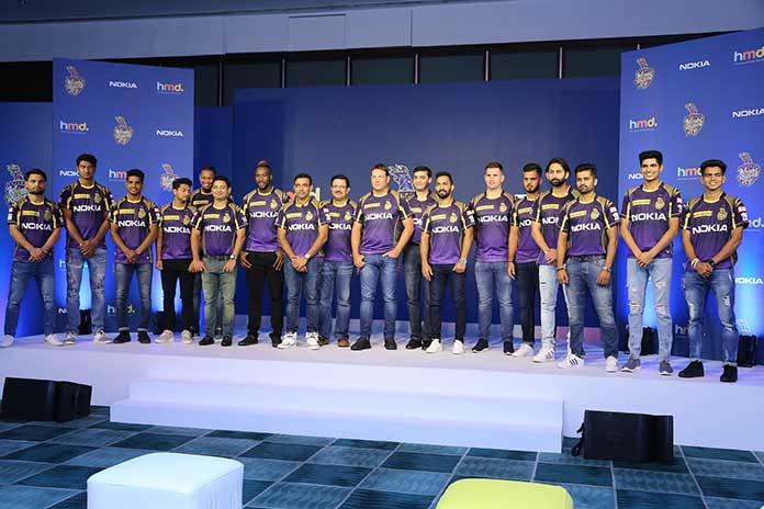 IPL 2018: HMD Global reinstates Nokia and Kolkata Knight Riders association