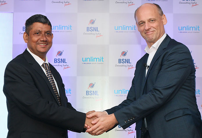 Unlimit will leverage pan India wireless network footprint of BSNL