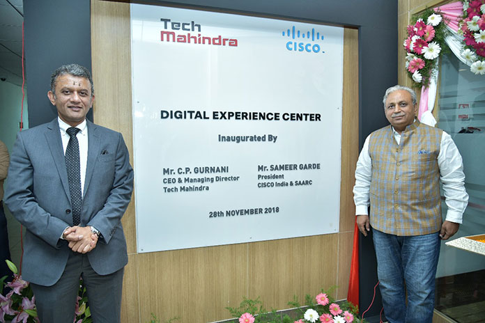 Networking giant Cisco in partnership with Indian IT consulting firm Tech Mahindra have launched digital experience center in Bangalore.