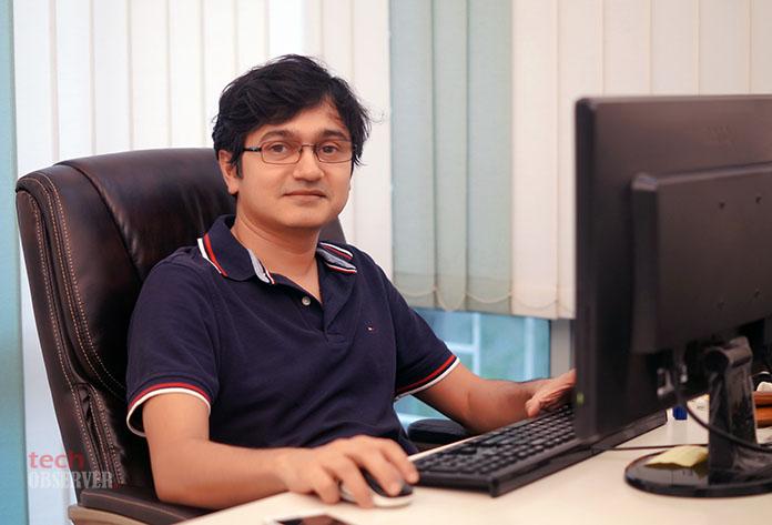 Nitin Gupta, co-founder, CEO and CTO of NeuroTags