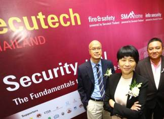 Secutech Thailand 2018 was held in Bangkok from 8 – 10 November 2018. The event put spotligh on smart security solutions.