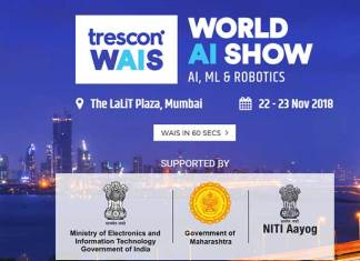 After a successful stint in Amsterdam, Trescon is all set to host World AI Show series in Mumbai on 22 – 23 November, 2018 at The Lalit Plaza.