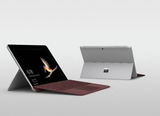 Microsoft Surface Go weigh just 1.15 pounds and it is 8.3mm thin.